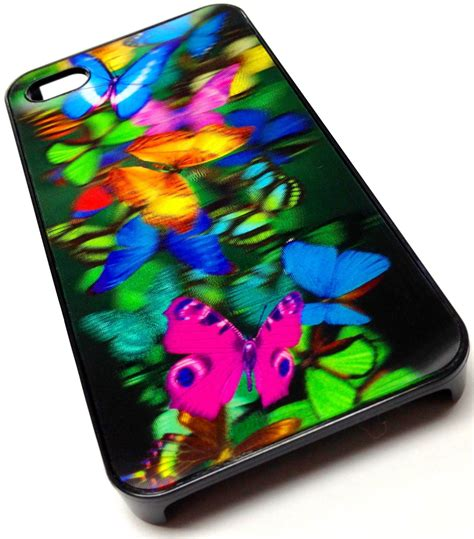 Butterfly Cell Phone Designed By A 15 Year by Butterfly Design 3d Hologram Cover For