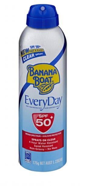 banana boat sunscreen article banana boat sunscreen fails to meet spf protective claims