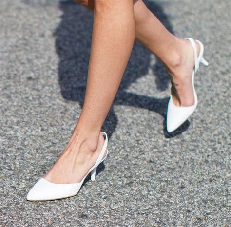 Vera Kitten Heels In White best 25 comfy wedding shoes ideas on
