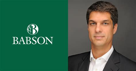 Is Babson Mba Any by Gustavo Trindade Director Babson Miami News Event