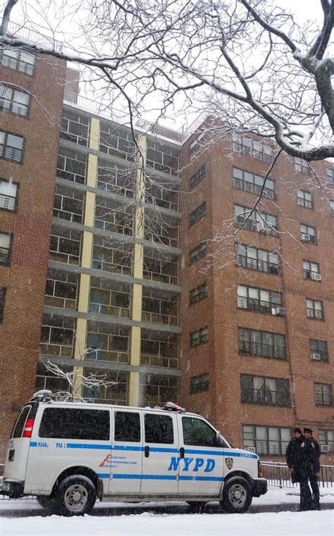 brooklyn college housing gunman targets trio of cops atop brooklyn housing project ny daily news