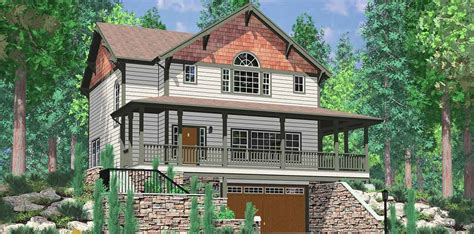 walkout basement house plans daylight basement on sloping lot daylight basement house plans floor plans for sloping lots