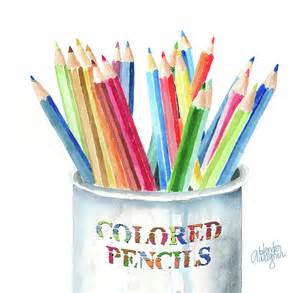 what are colored pencils made of my colored pencils by arline wagner