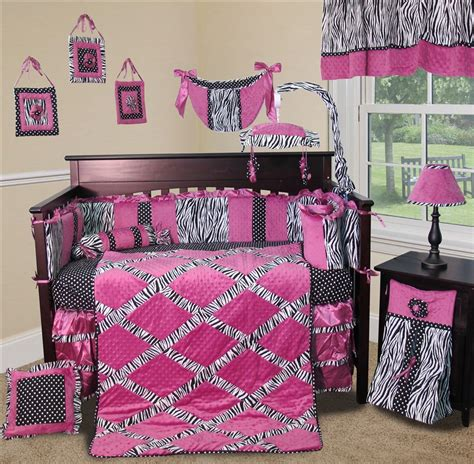 Baby Zebra Bedding Sets Baby Boutique Zebra Princess 13 Pcs Nursery Crib