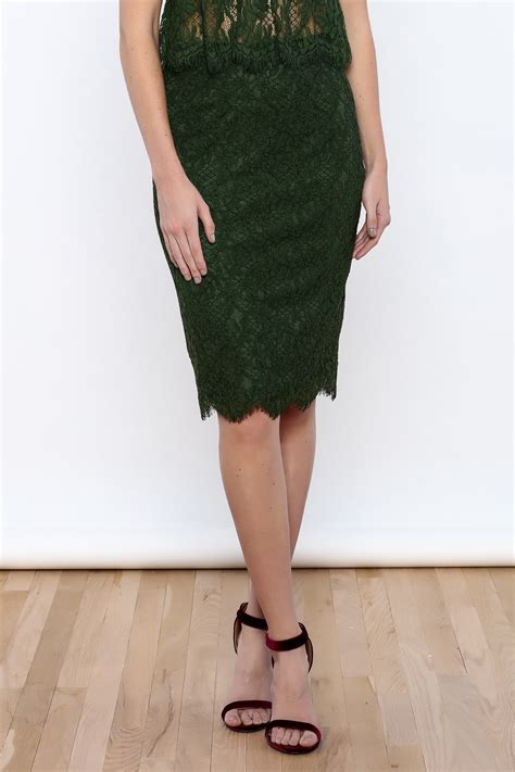 marvel green pencil skirt from san diego by