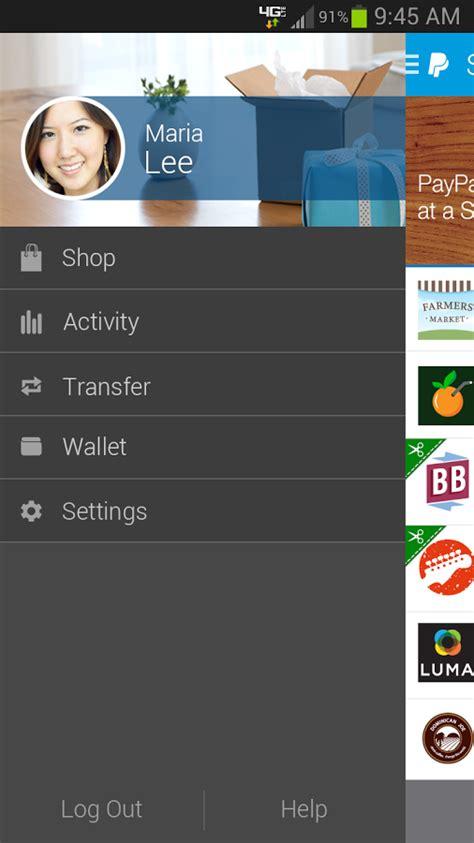 paypal android app paypal para android