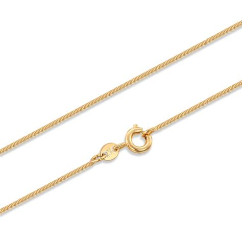 Choker Color Design Chain Simple023f78 Rbcbed yellow gold color slim thin snake chain 14 quot choker necklace for children boys jewelry