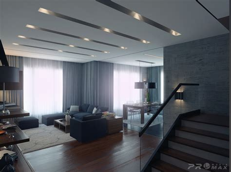 Modern Apartment 1 Living Room 2 Interior Design Ideas Modern Apartment Interior Design