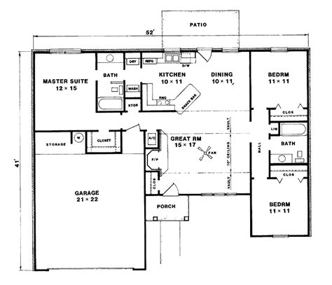 floor plan 3 bedroom bungalow house house design plans nebula 3 bedroom bungalow floor plan shows the ergonomic