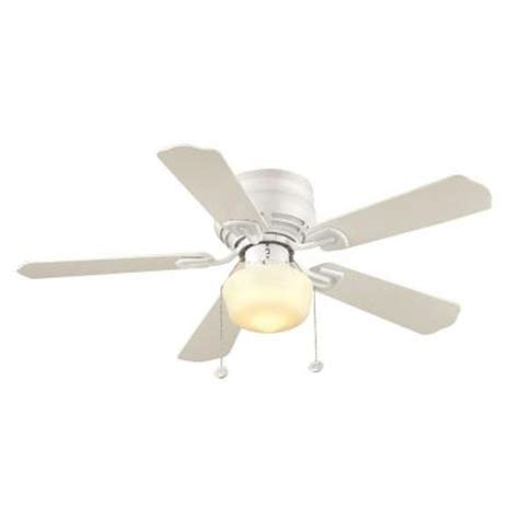 Hton Bay 42 Inch Ceiling Fan by Hton Bay Middleton 42 In White Ceiling Fan Ue42vwh Shb