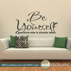 Sticker Wall Quotes Wall Decals Quotes Quotesgram