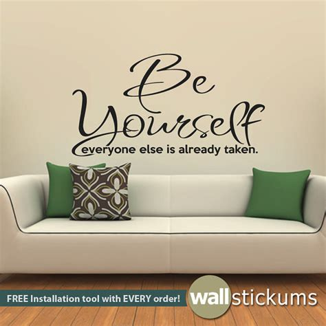 quotes on wall stickers wall decals quotes quotesgram