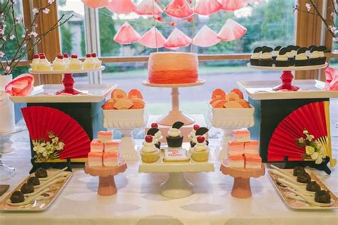 japanese themed birthday party japanese themed birthday party with such cute ideas via