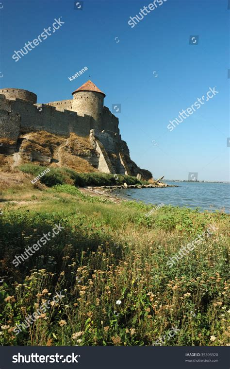 fortress bank fortress on the river bank in belgorod dnestrovsky