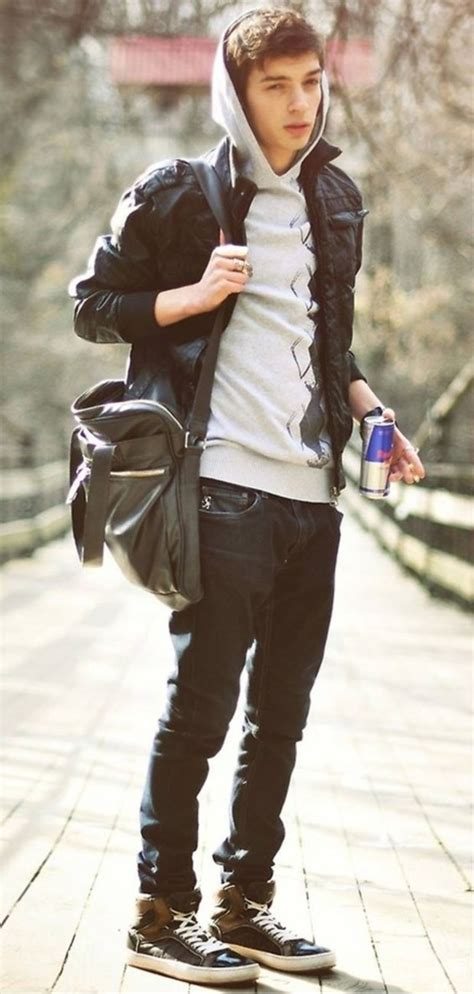 how to dress trendy teenager boys 45 real outfits for teen boys her canvas