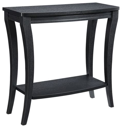 transitional console table newport console table with shelf transitional console