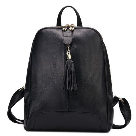 mochilas mujer cuero estilo nuevo mochilas de cuero con flecos mochila