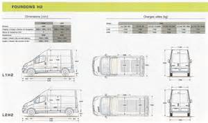Dimensions Of Renault Trafic Route Occasion Dimension Renault Trafic