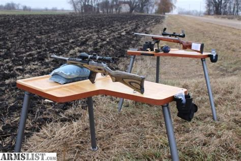 rifle bench armslist for sale the best portable shooting bench table