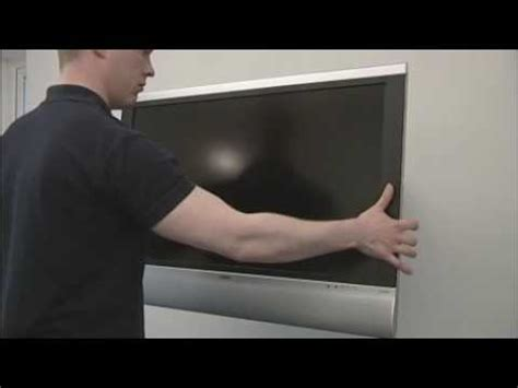guide to installing an lcd plasma tv wall bracket mount brought to you by www clearly av