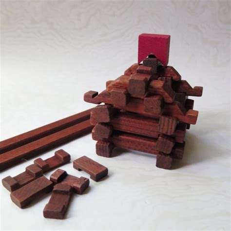 square lincoln logs miniature lincoln logs wooden timber toys square end 1950s