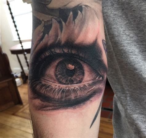 tattoo eye bags 61 mind blowing eye tattoos on arm
