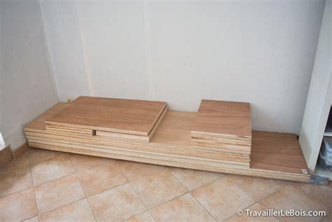 fabrication d un placard 1 232 re partie travailler le bois
