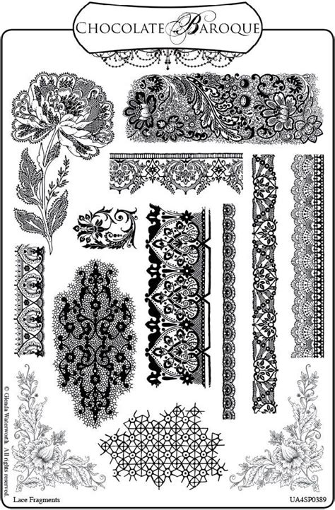 how to draw lace patterns crafty flossie new stamps and