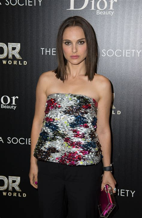 New Arrival Fashion Portman Nd natalie portman thor the world screening