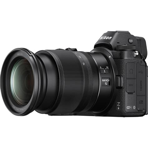 nikon z6 mirrorless digital with 24 70mm lens