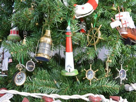 barnegat lighthouse christmas tree ornament