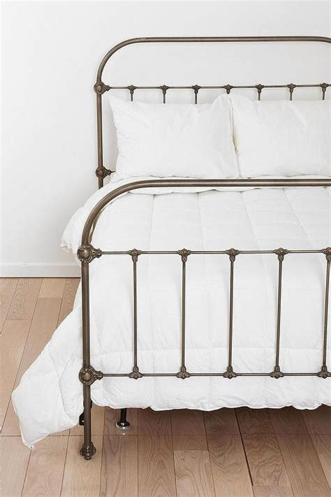 urban outfitters bed plum bow callin iron bed i urban outfitters