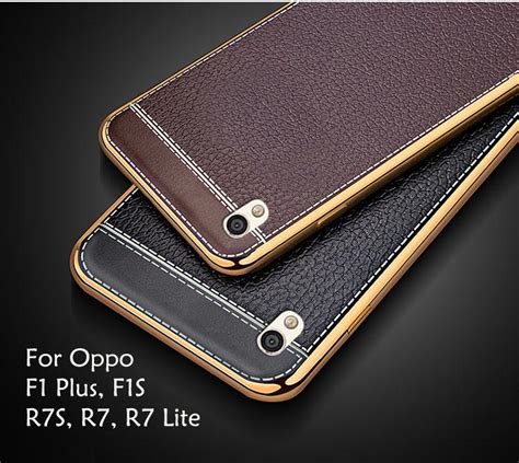Casing Softcase Brown Line Oppo R7 Plus oppo f1s f1 plus r7s r7 lite plating end 6 4 2019 12 41 am