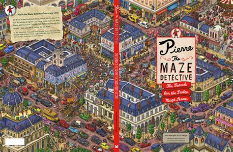pierre the maze detective 見識國際等級實力 一窺知名工作室 ic4design 的神級插畫 fliper