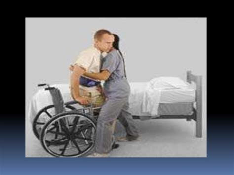 Transfer Bed To Chair by Patients Safety Transfers And Lifting