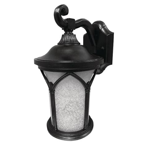 Patriot Outdoor Lighting Aspects Callao Black Outdoor Integrated Led Wall Mount Lantern Casw30045lbkfs The Home Depot