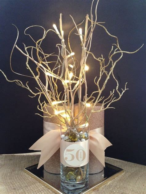 50th Wedding Anniversary Table Decoration Ideas On