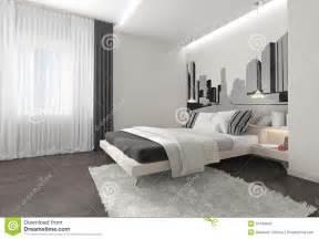 int 233 rieur moderne de chambre 224 coucher avec les rideaux