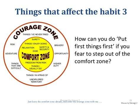 comfort zone activities put first things by makayla layton on emaze