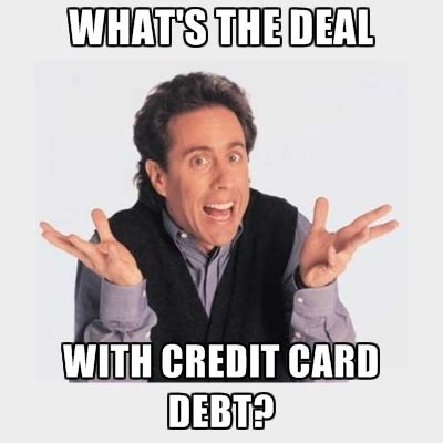 Credit Card Meme - three signs that you re ruining your credit creditguard