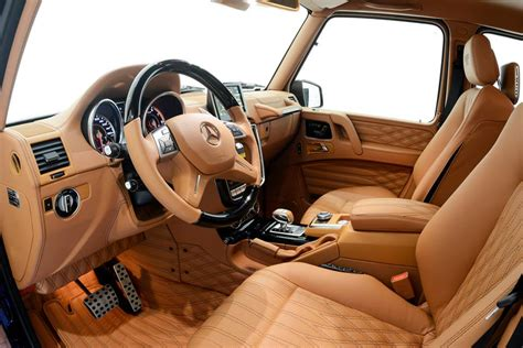 G Interior by Brabus Mercedes G63 Widestar Quot All Black Quot