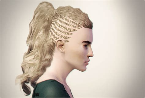 sims 3 braid hair my sims 3 blog city side braids store hair by serabiet