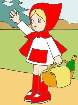 caperucita roja dibujos animados en imagenes de dibujos animados caperucita roja
