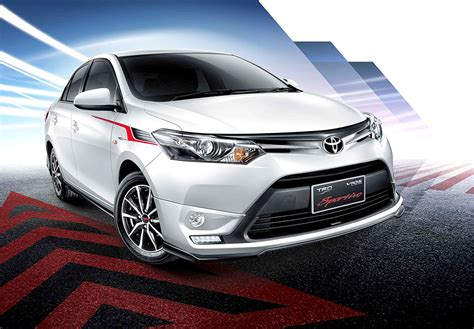 2015 Toyota Vios 1 5 G Trd M T toyota vios trd sportivo variant launched in thailand