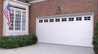 Designer Garage Doors Residential standard short panel two car garage door semper fidelis