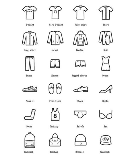clothes vector design free download 24 free clothes icons free vector site download free