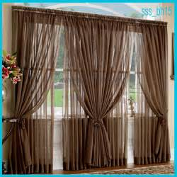 home textile products sheer and semi sheer curtains