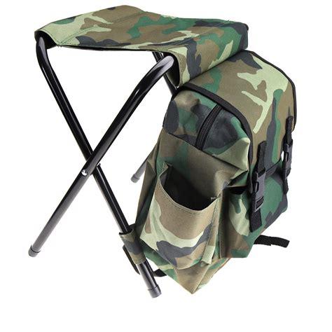 folding fishing chair backpack folding cing chairs portable hiking travel fishing