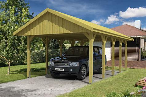 carport onlineshop holz carport skanholz 171 sauerland einzelcarport mit