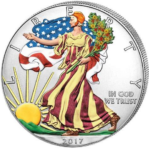 1 Oz Silver American Eagle Colorized - buy 2017 1 oz colorized american silver eagle coins jm